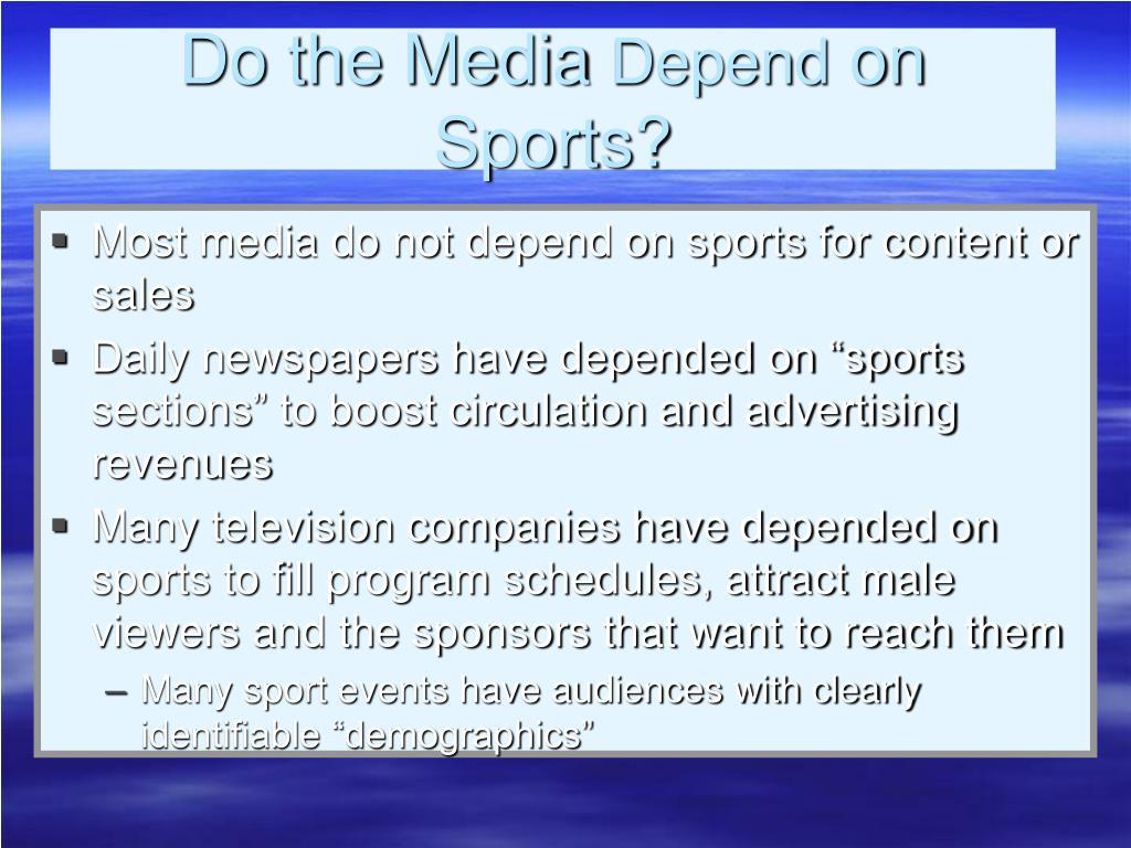 Do the Media