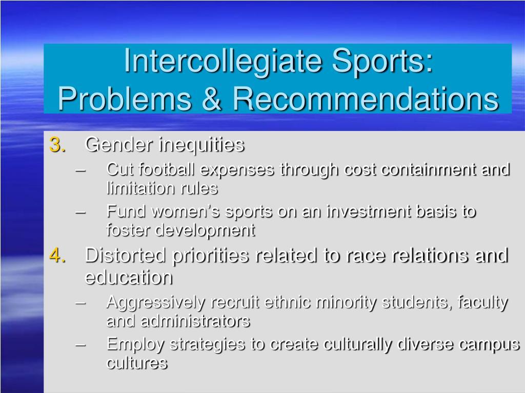 Intercollegiate Sports: