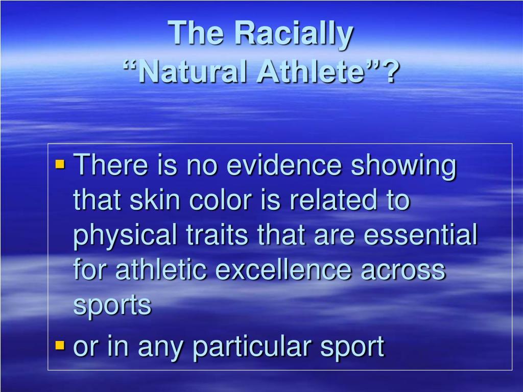 The Racially