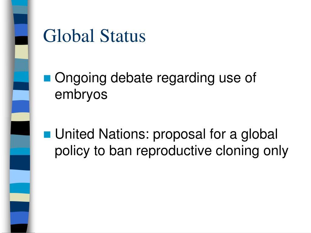 Global Status