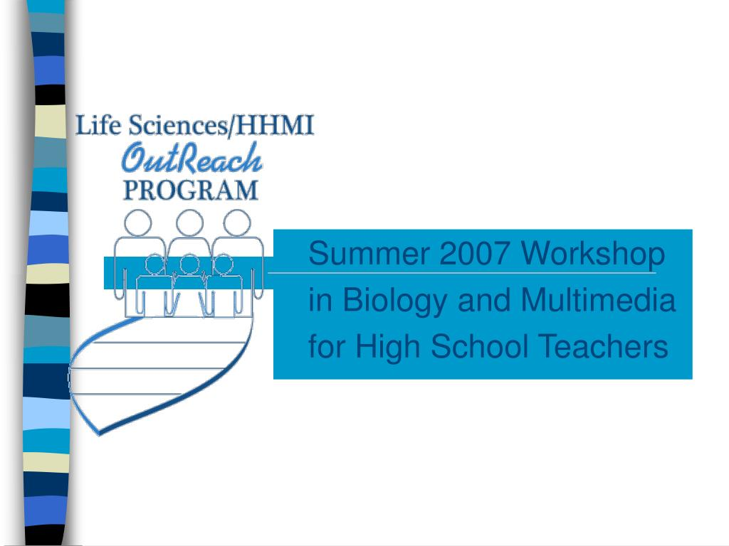 Summer 2007 Workshop