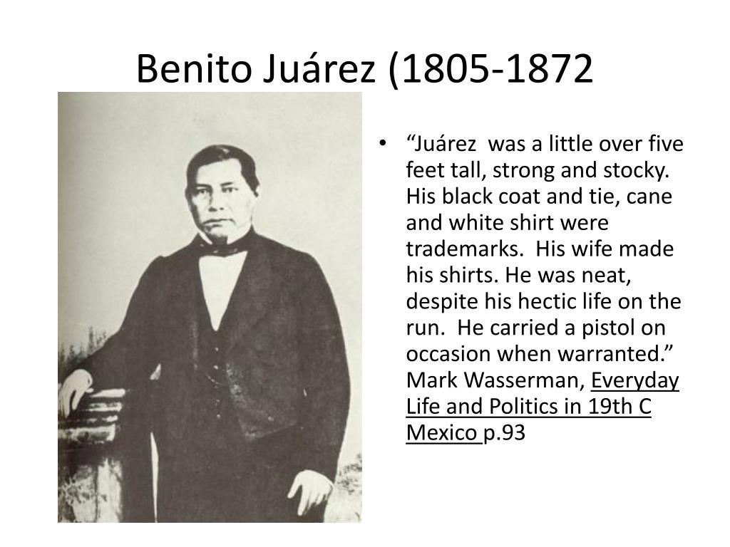 Benito Juárez (1805-1872