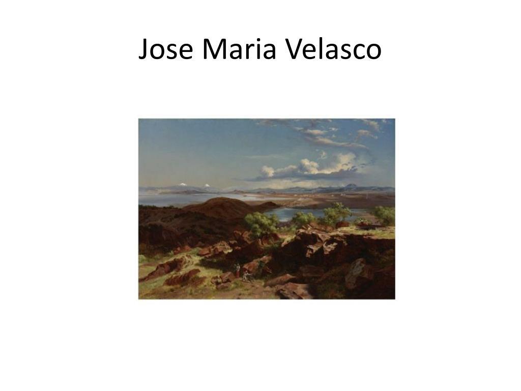 Jose Maria Velasco