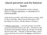 liberal patriotism and the national guard