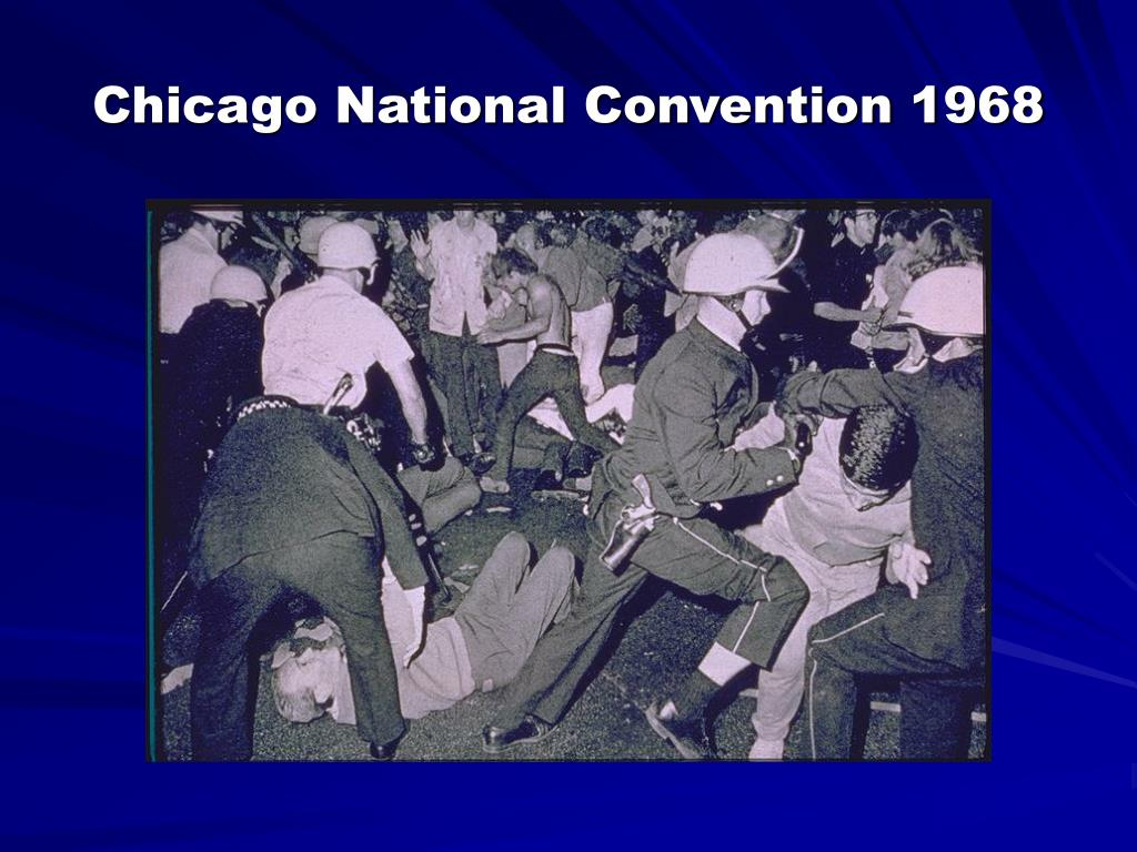 Chicago National Convention 1968