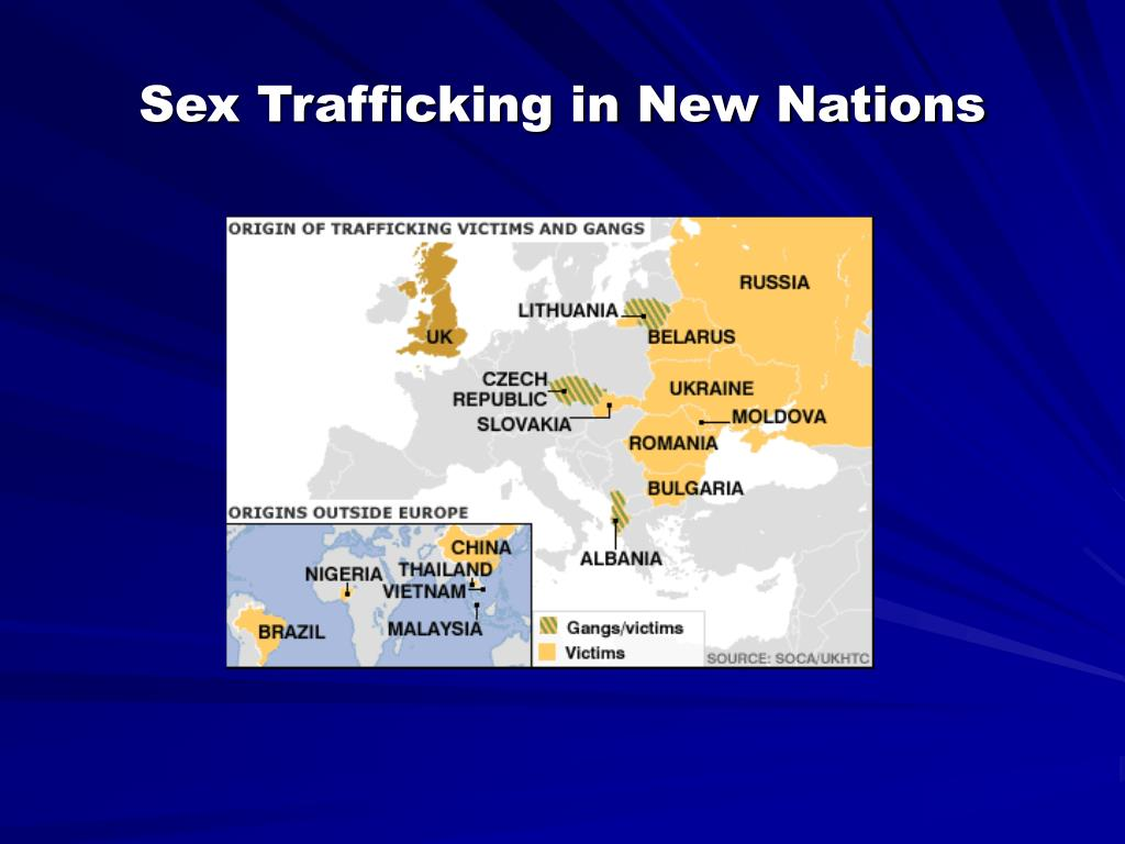Sex Trafficking in New Nations