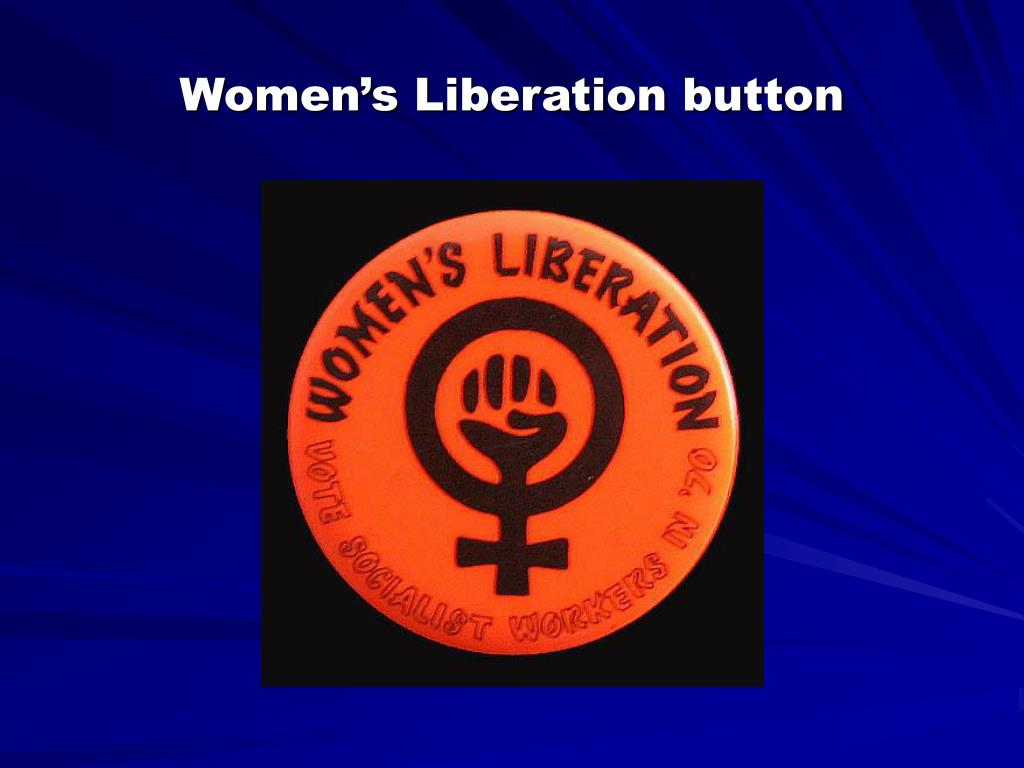 Women's Liberation button