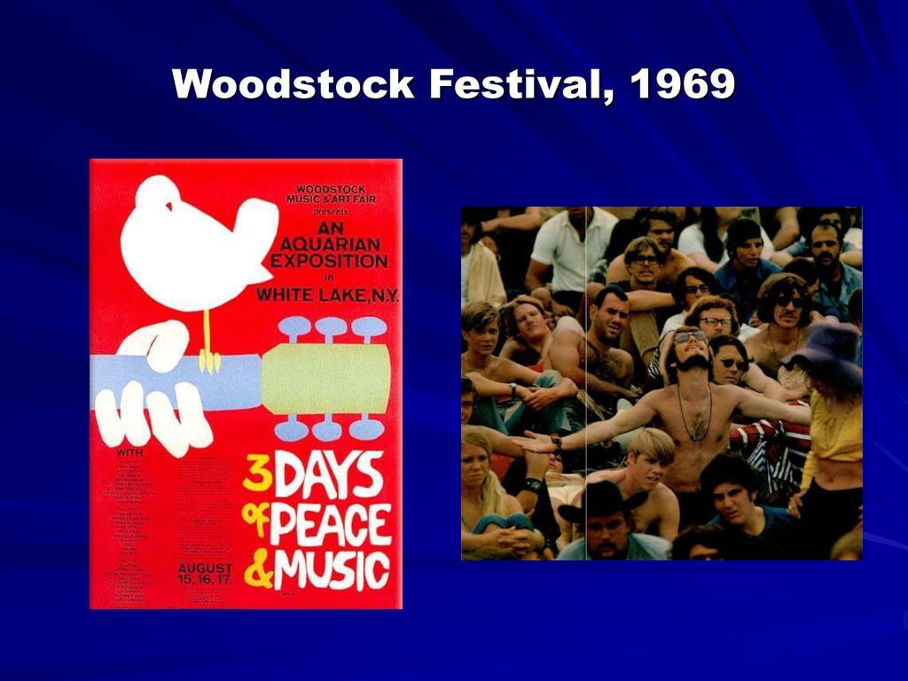 Woodstock Festival, 1969