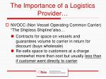 the importance of a logistics provider5