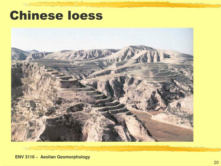 Chinese loess