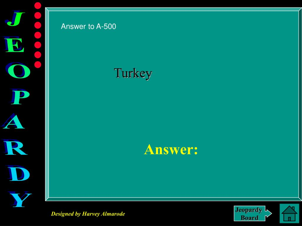 Answer to A-500