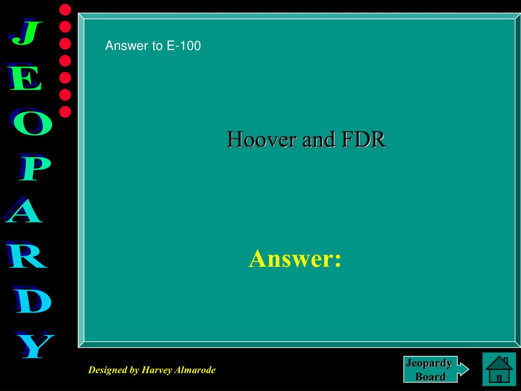 Answer to E-100