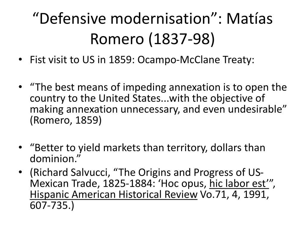 """""""Defensive modernisation"""":"""
