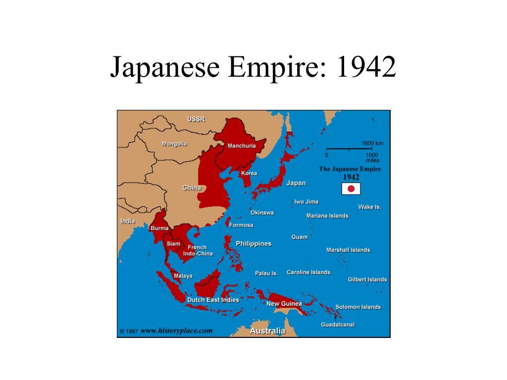 Japanese Empire: 1942