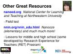 other great resources