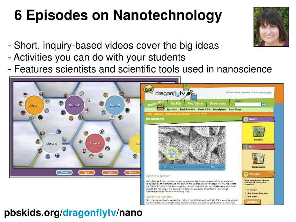 6 Episodes on Nanotechnology