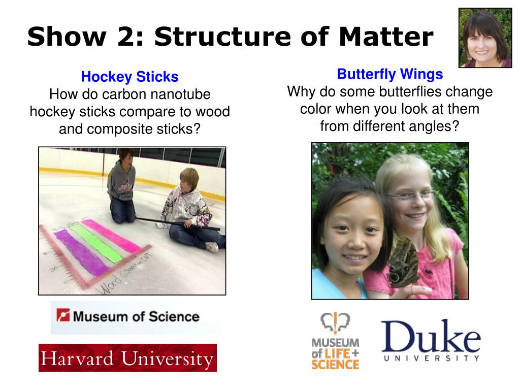 Show 2: Structure of Matter
