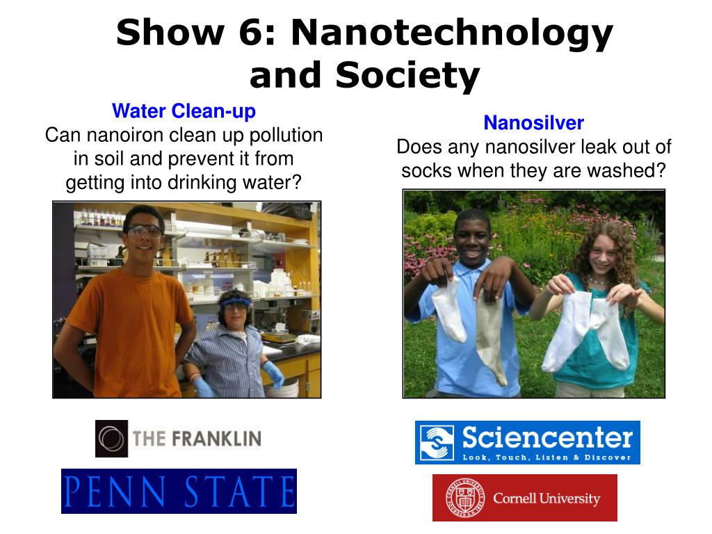 Show 6: Nanotechnology and Society