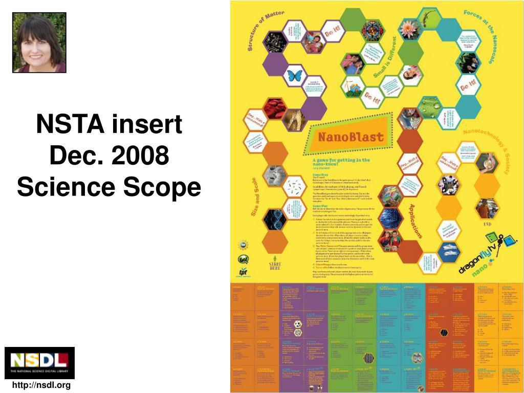 NSTA insert