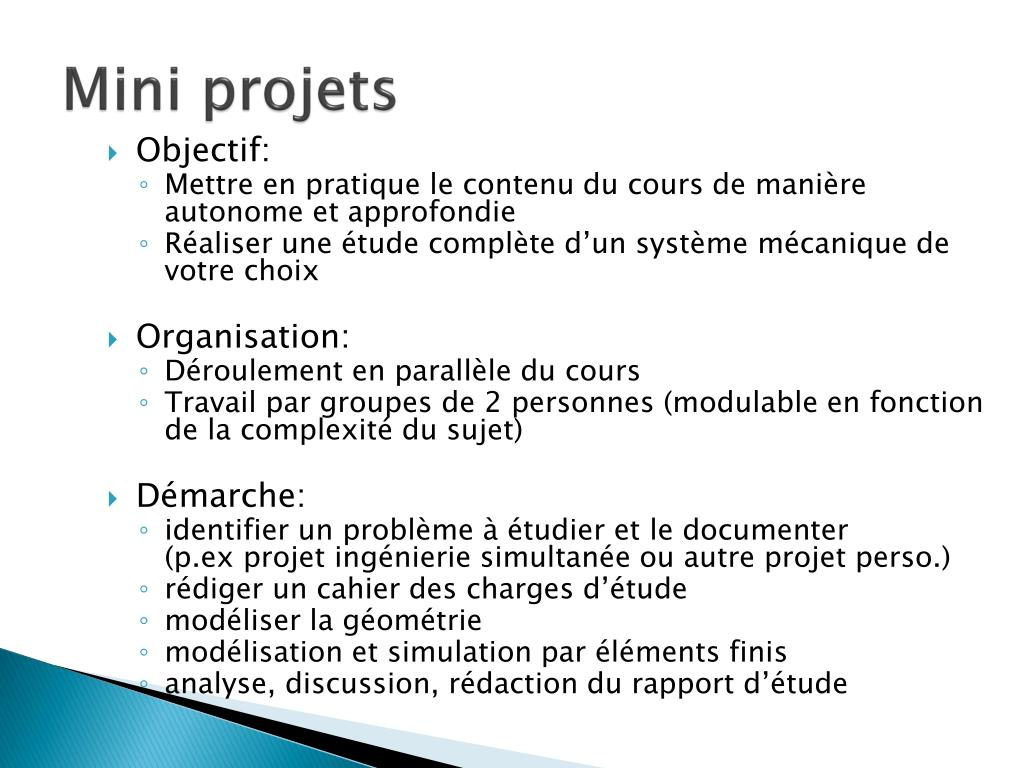 Mini projets