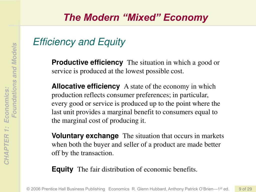 "The Modern ""Mixed"" Economy"