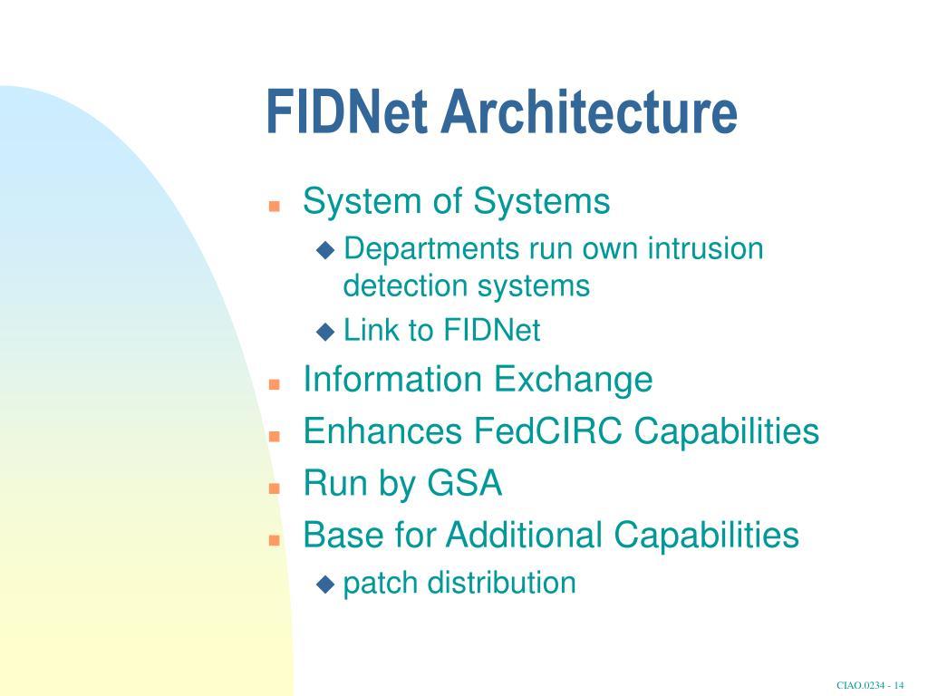 FIDNet Architecture