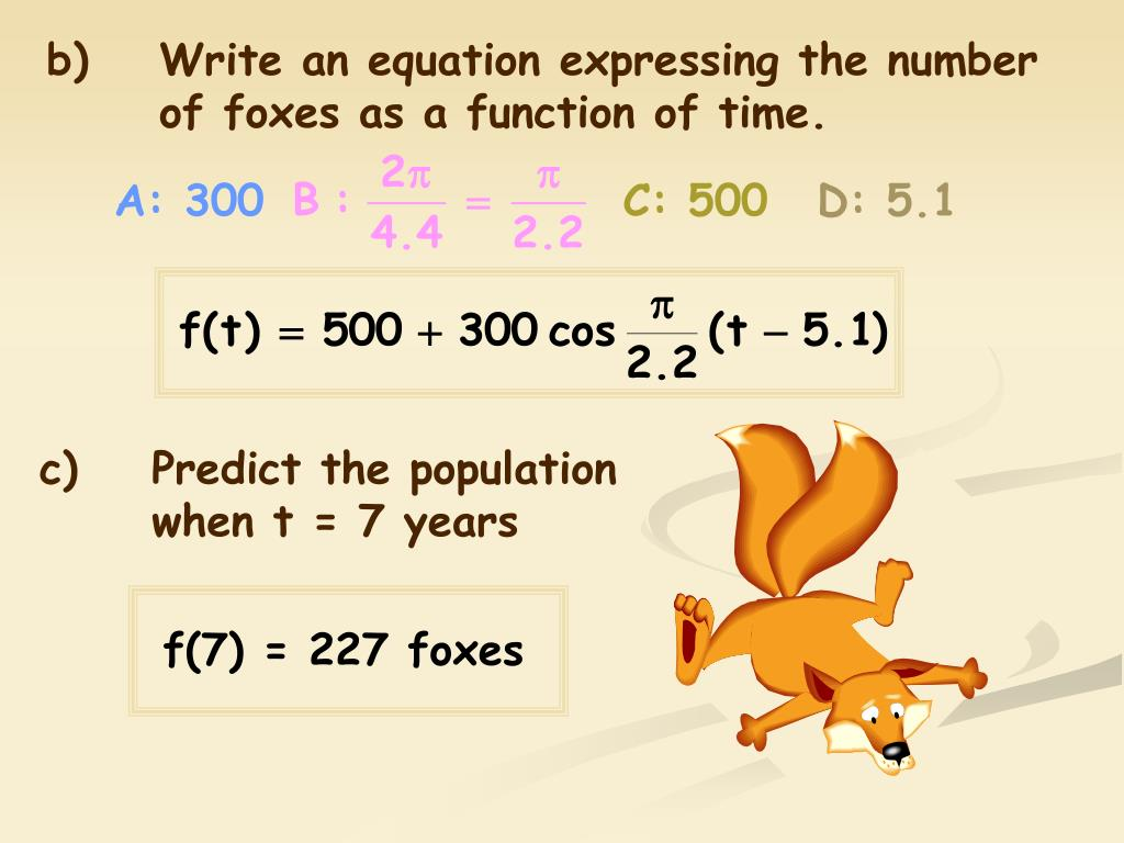 b)Write an equation expressing the number