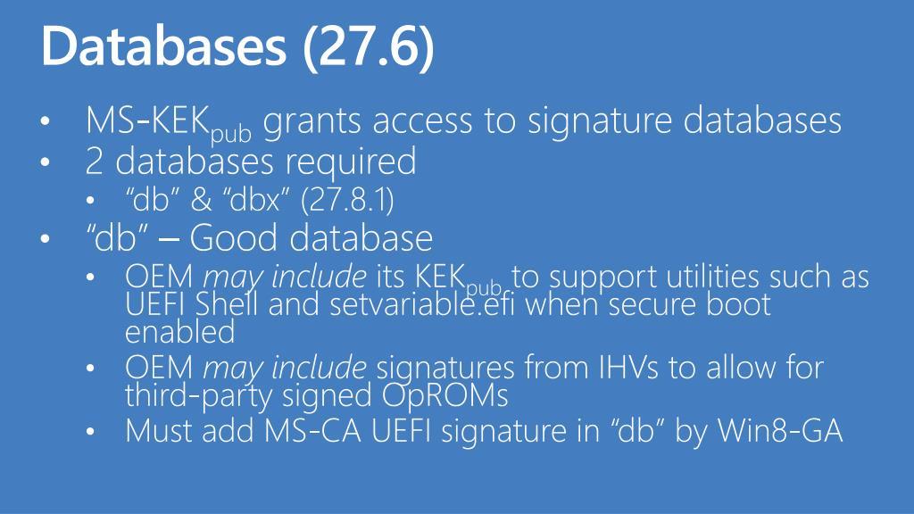Databases (27.6)