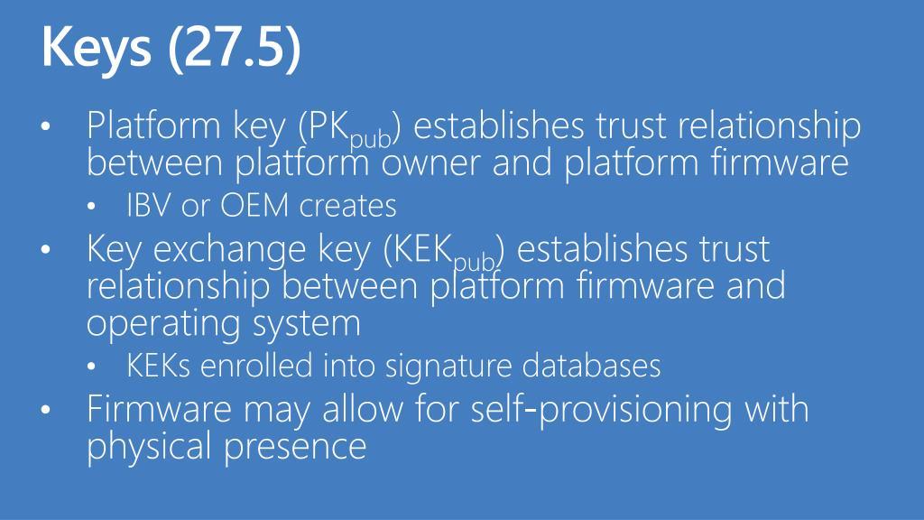 Keys (27.5)
