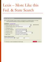 lexis more like this fed state search
