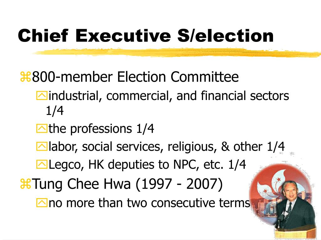 Chief Executive S/election