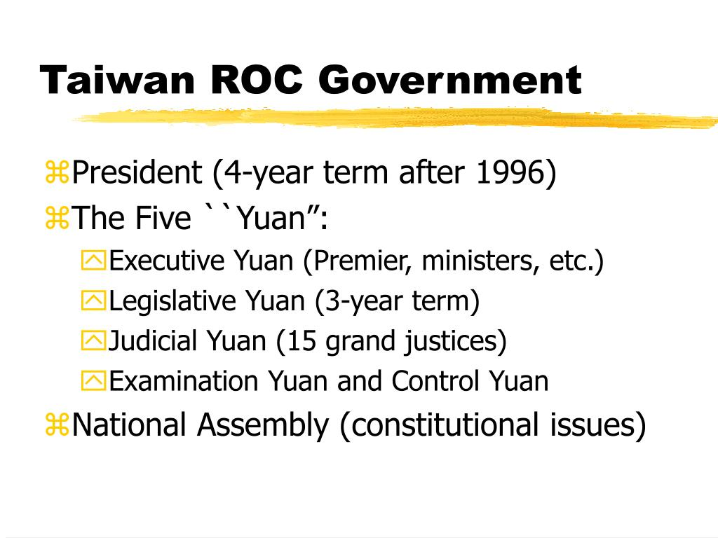 Taiwan ROC Government