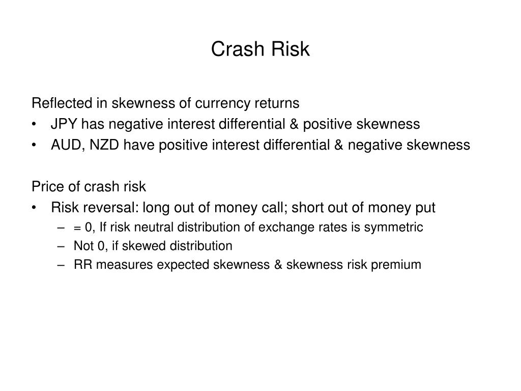 Crash Risk