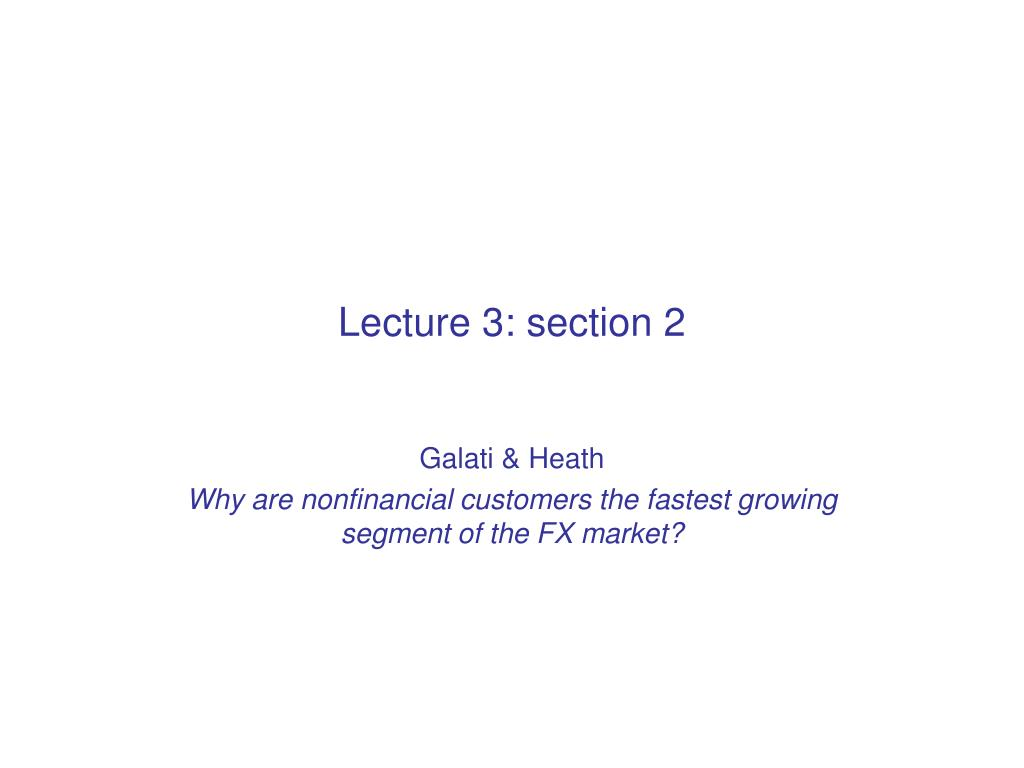 Lecture 3: section 2