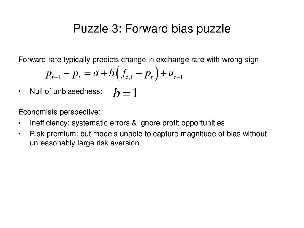 Puzzle 3: Forward bias puzzle
