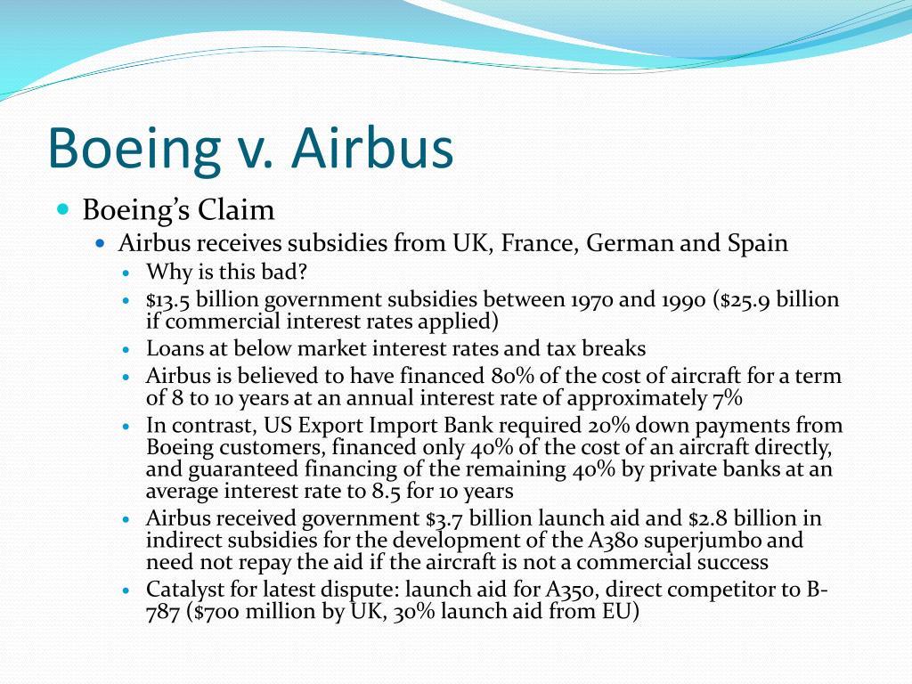 Boeing v. Airbus