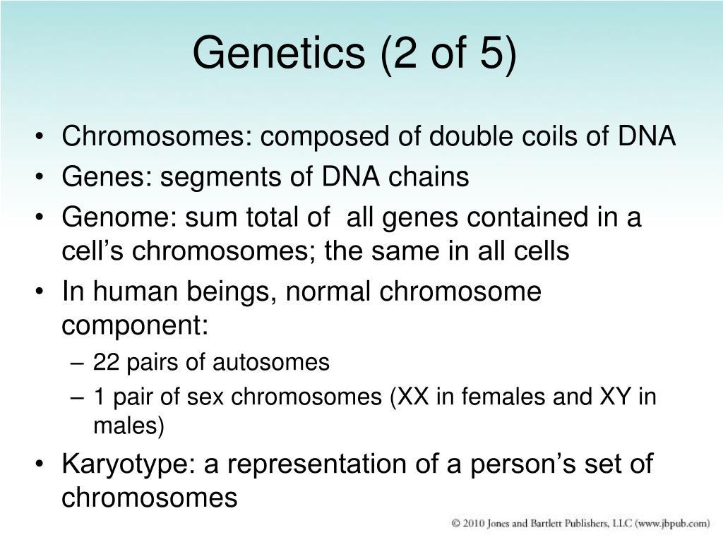 Genetics (2 of 5)
