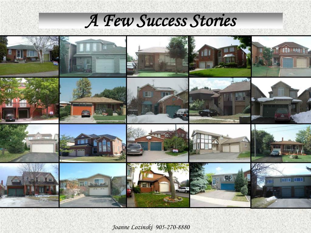 A Few Success Stories