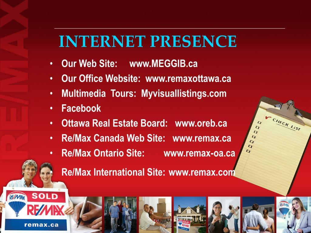 INTERNET PRESENCE
