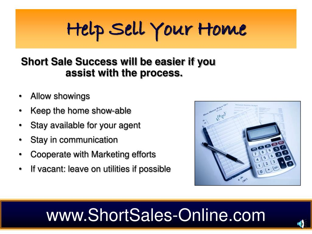 Help Sell Your Home