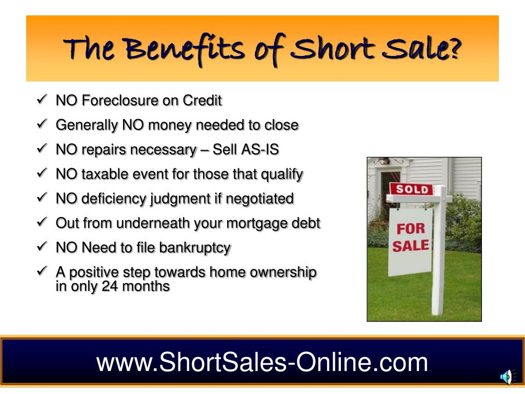 The Benefits of Short Sale?