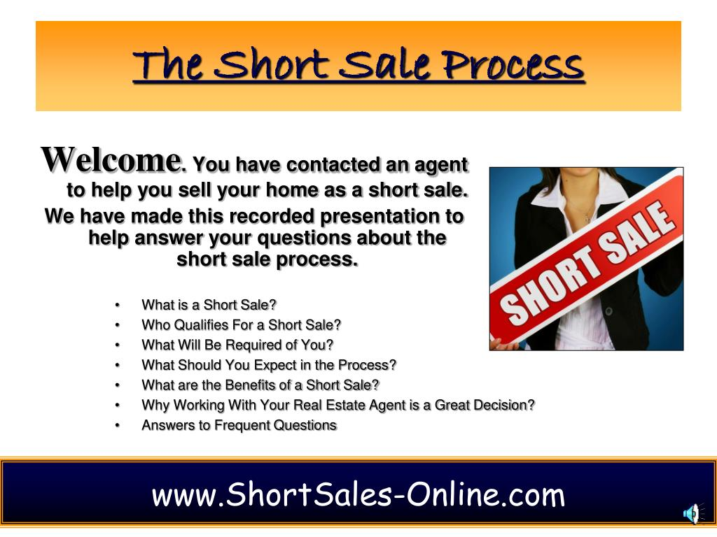 The Short Sale Process