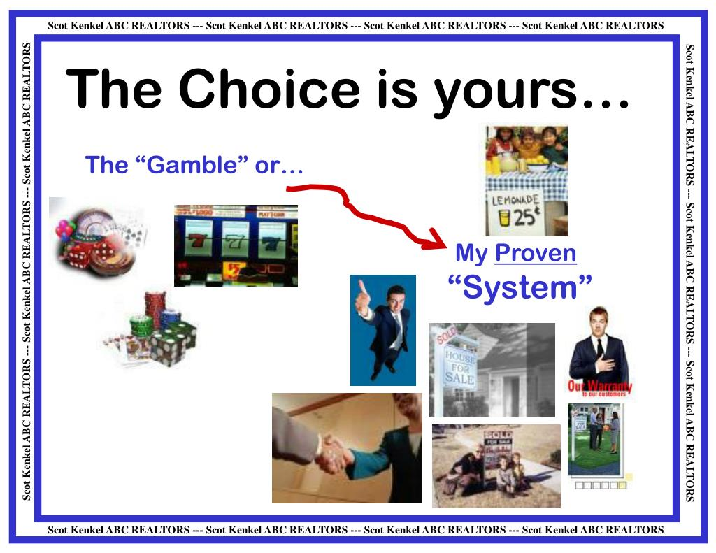 The Choice is yours…