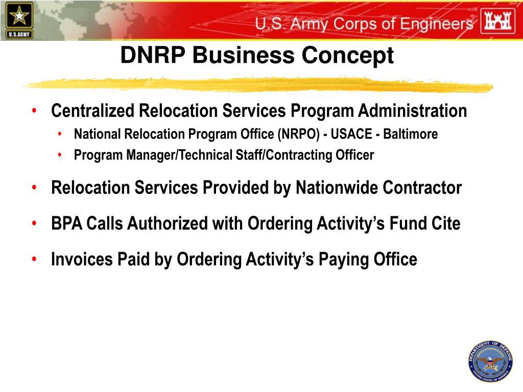 DNRP Business Concept