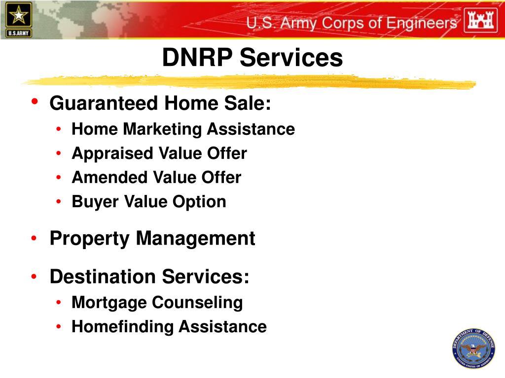 DNRP Services