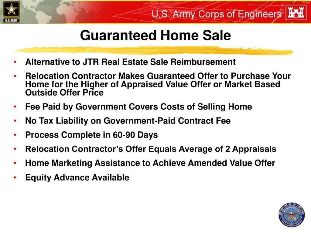 Guaranteed Home Sale