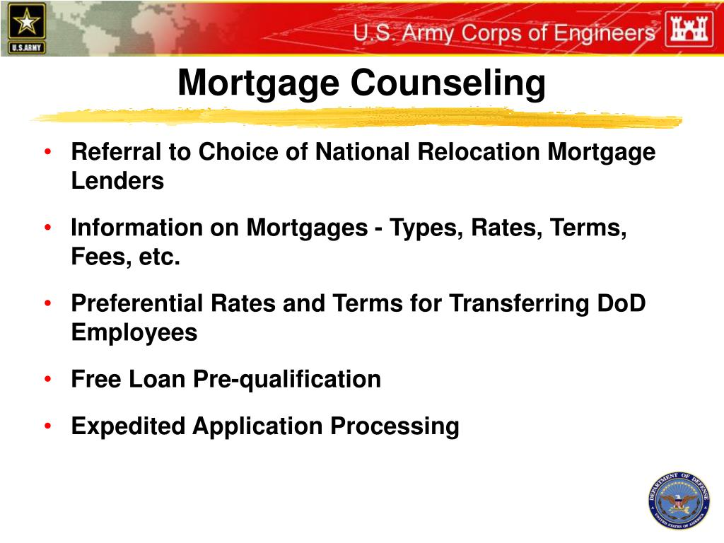 Mortgage Counseling