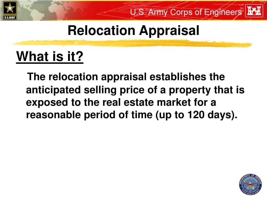 Relocation Appraisal