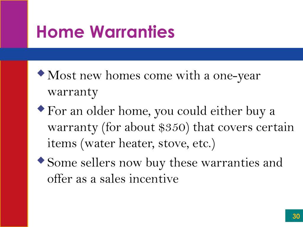 Home Warranties