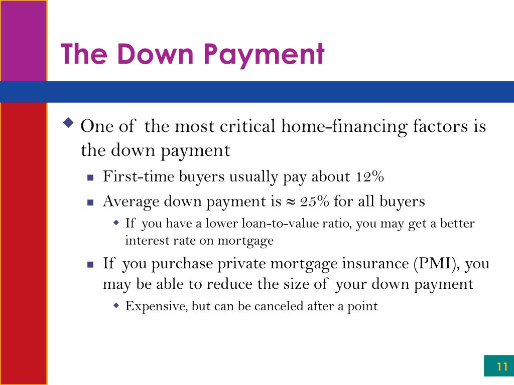 The Down Payment